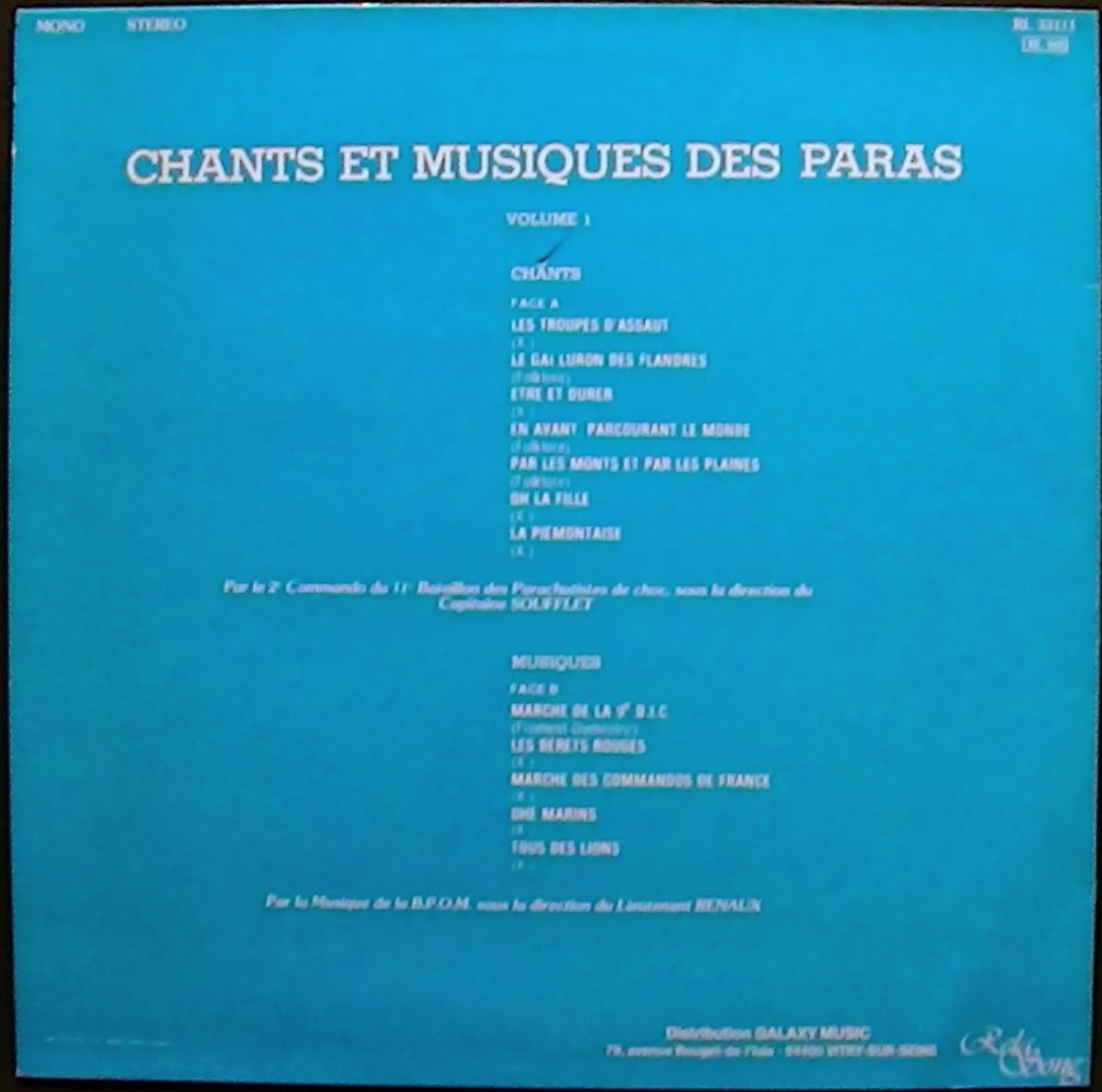 Paroles Chem Chemin Cheminée En Francais Chants Des Paras De France En Paroles Et En Partitions