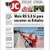 Capas do Jornal do Commercio, Folha de Pernambuco e Diário de Pernambuco desta quarta-feira, 23 de novembro