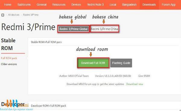 tutorial cara download room format rar