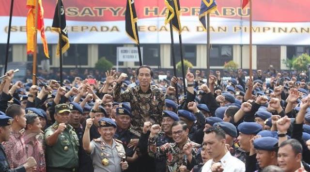PASCA AHOK TERSANGKA DAN MEMAKNAI SAFARI POLITIK / SHOW OF FORCE JOKOWI