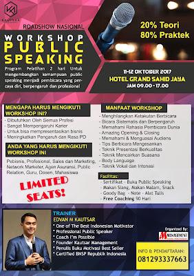 jadwal training, jadwal pelatihan, pelatihan public speaking, pelatihan pembicara, motivator public speaking, training public speaking