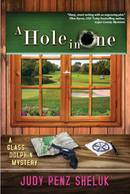 a hole in one book cover