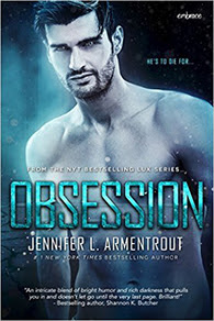 New adult novel Obsession by Jennifer L Armentrout!
