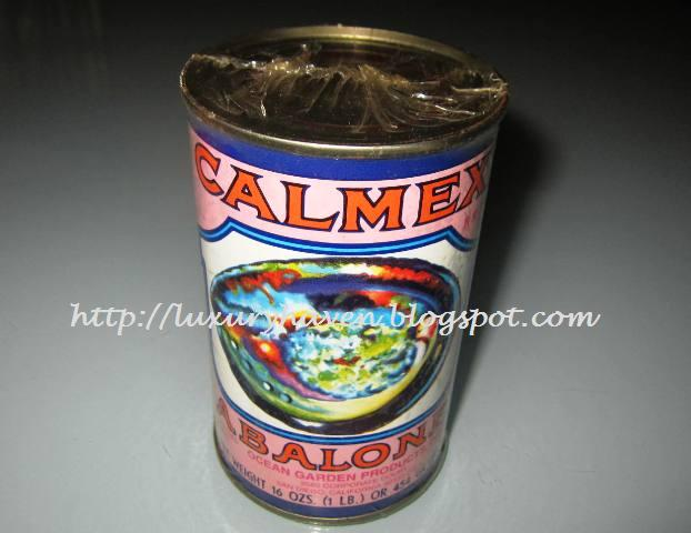 cooking calmex abalone for chinese new year