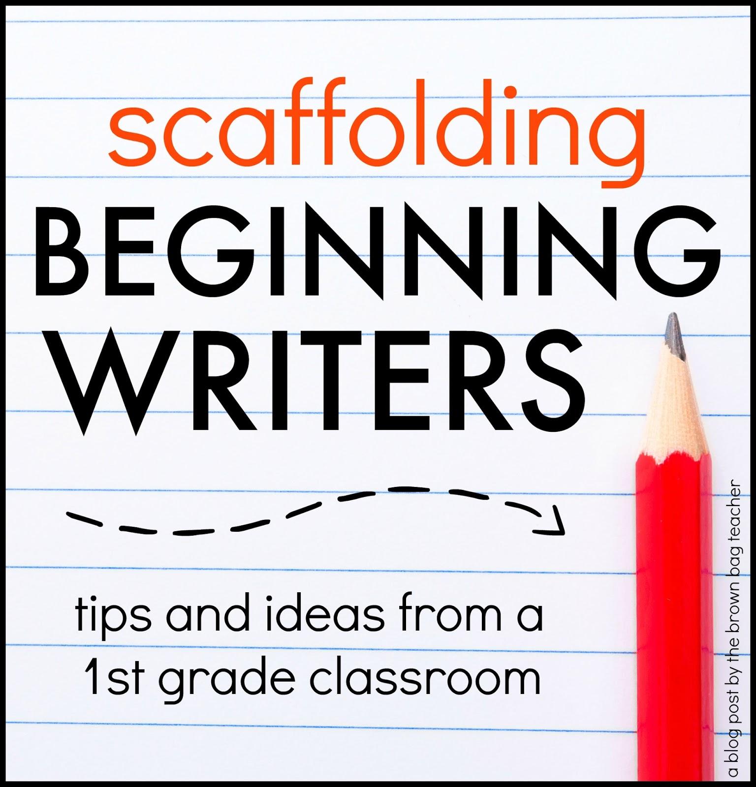 Teaching Sentence Writing 1st Graders