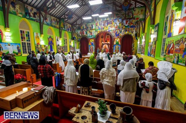 Malam natal gereja koptik alexandria
