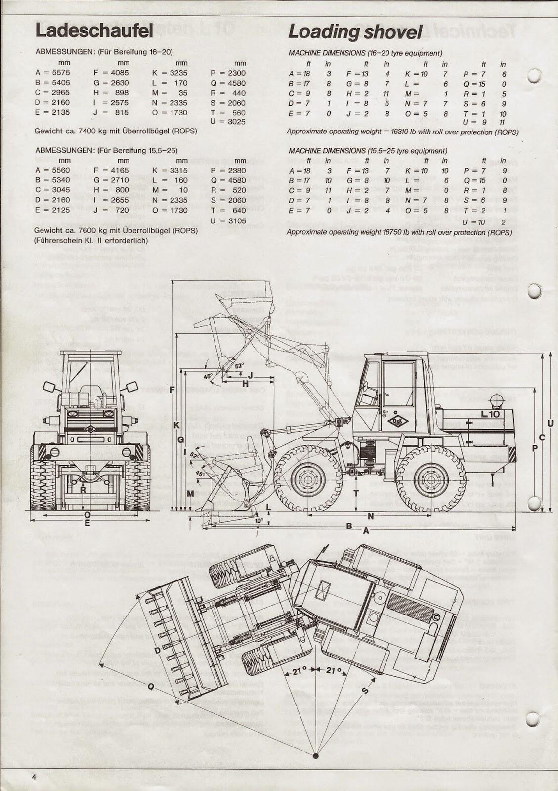 o&k l6 technische daten