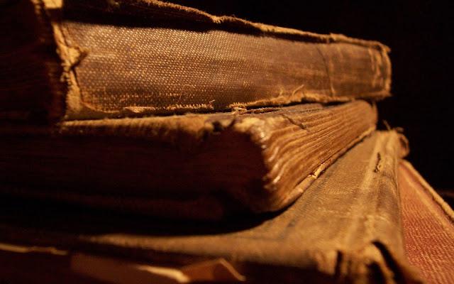 Livro abandonado