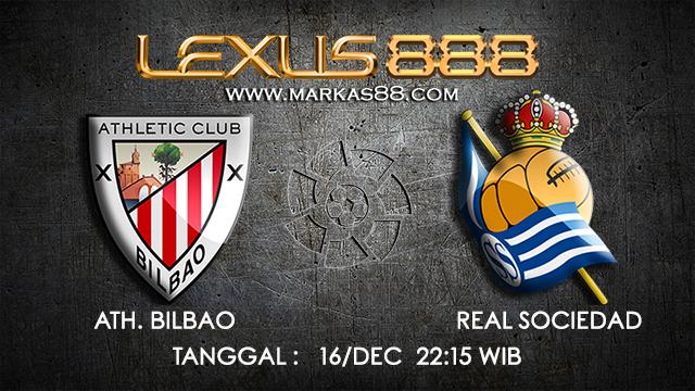 PREDIKSI BOLA ~ PREDIKSI TARUHAN BOLA ATH.BILBAO VS REAL SOCIEDAD 16 DESEMBER 2017 (Spanish La Liga)