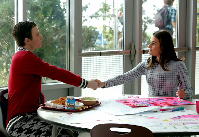 rachel and kurt glee