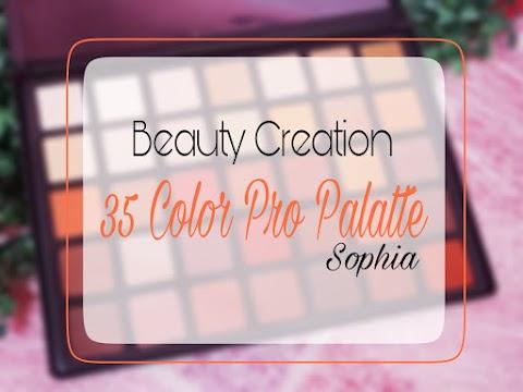 Review Beauty Creation 35 Color Pro Palette - Sophia