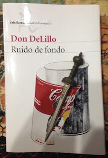 Portada del libro Ruido de fondo, de Don DeLillo