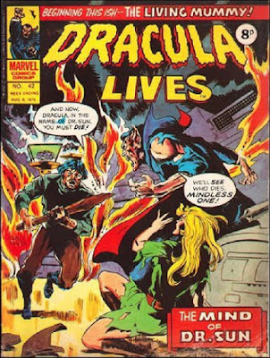 Marvel UK, Dracula Lives #42