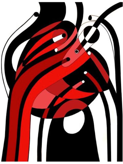 Graeme Mortimer Evelyn illustration