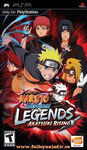 Naruto Shippuden Legends Akatsuki Rising Playstation Portable