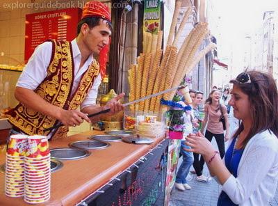 Makanan Turki Istambul es krim turki