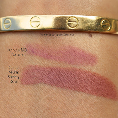 gucci sensuous deep matte lipstick swatches