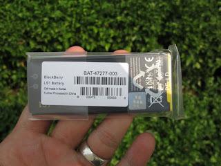 Baterai Blackberry Z10 LS1 Original 1800mAh