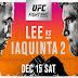 UFC en Fox: Lee vs. Iaquinta 2 EN VIVO | ONLINE 15 de diciembre 2018