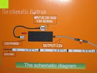 Anleitung: LIHAO 5M LED Strip Warmweiß 600 SMDs Band wasserdicht Streifen mit Hohlbuchse+Netzteil DC 12V Trafo Set [Energieklasse A]