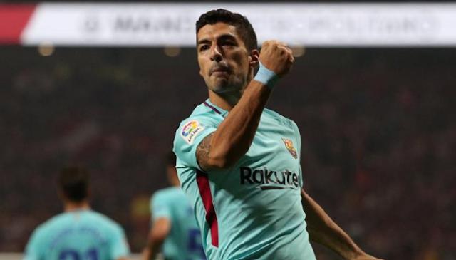 AGEN BOLA - Suarez AGEN BOLA - Suarez Masih Belum Bisa Mencetak Gol Di Barcelona Saat Bertemu Malaga