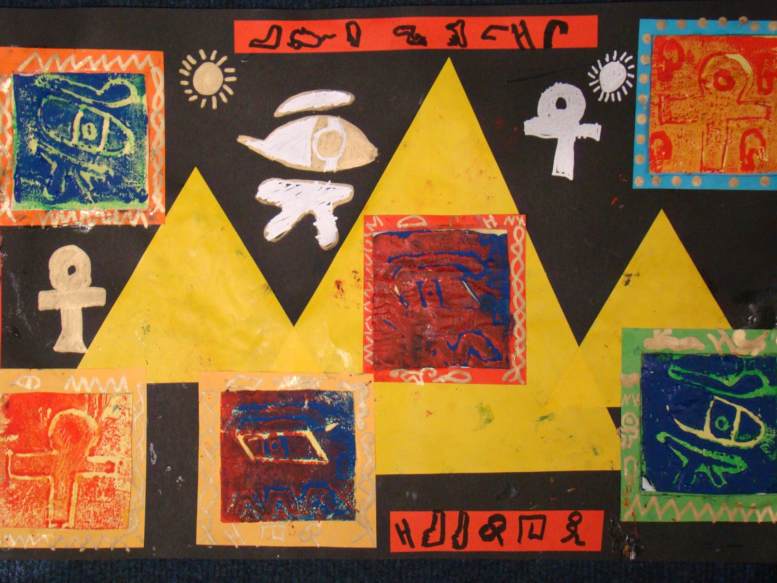 Hitcham S Blog Stunning Egyptian Art Work By Class Ga Vr