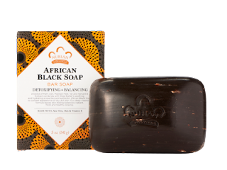 African Black Soap Bar Nubian Heritage