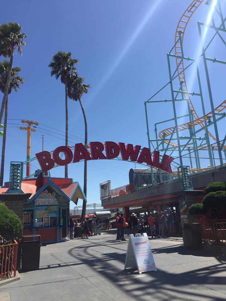 American Adventures- California Part 1; Santa Cruz & San Jose