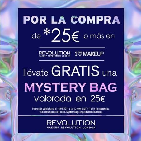 Mystery Bag de Revolution Makeup
