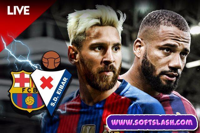 بث مباشر مباراة ايبار ضد برشلونة Live بدون تقطيع