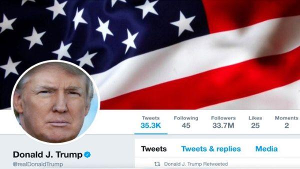 Protestan contra Twitter por no eliminar cuenta de Trump