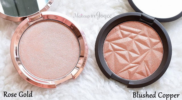 Becca Blushed Copper Rose Gold Shimmering Skin Perfector Pressed Highlighter Review