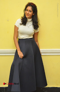 Telugu Actress Sindhu Affan Latest Pos in Black Skirt at Www.Meena Bazaar Movie Opening  0066.JPG