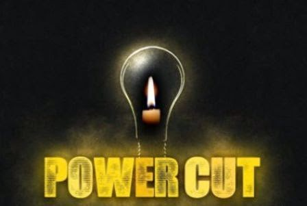 electricity cut off