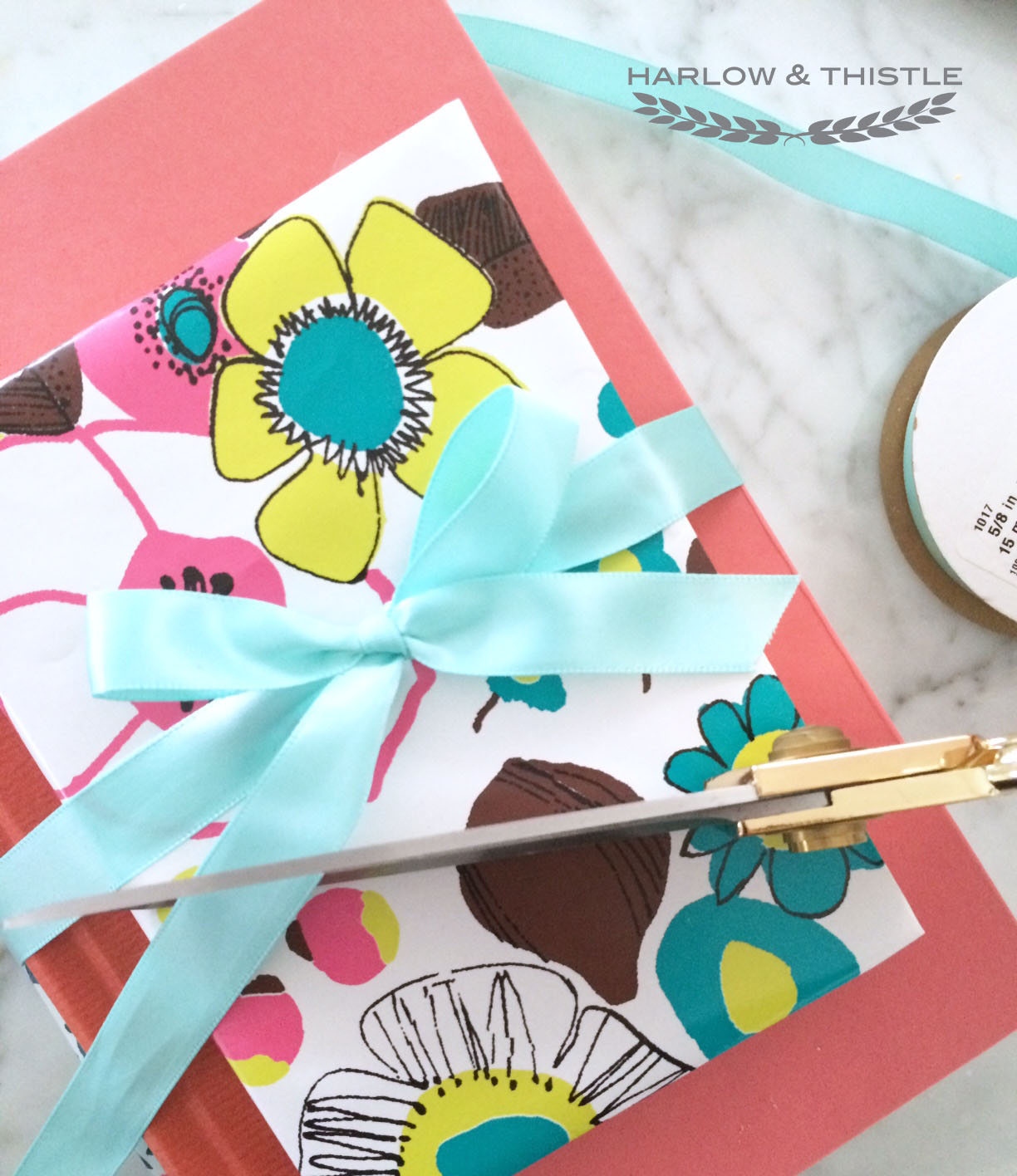 DIY Wrapping Paper Book Cover