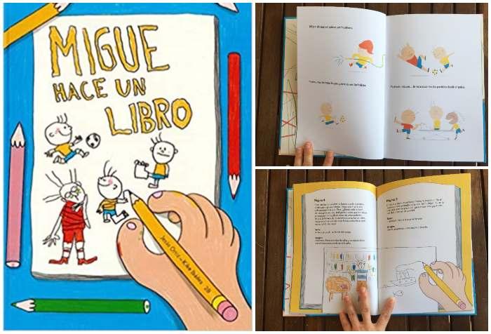 cuento recomendado más 8 edad Migue hace un libro