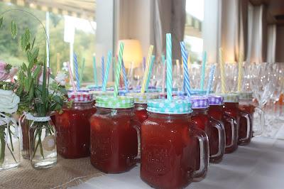 Mason Jars, Hochzeitsmotto aus M wird M, Pastell und Vintage im Riessersee Hotel Garmisch-Partenkirchen, Bayern
