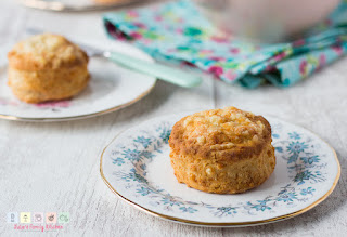 Scones are just as suitable for a picnic as they are afternoon tea.