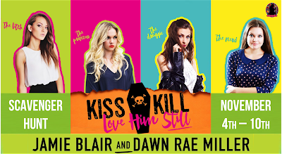 http://fantasticflyingbookclub.blogspot.com/2015/10/scavenger-hunt-schedule-kiss-kill-love.html
