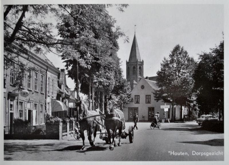 Houten pocztówki