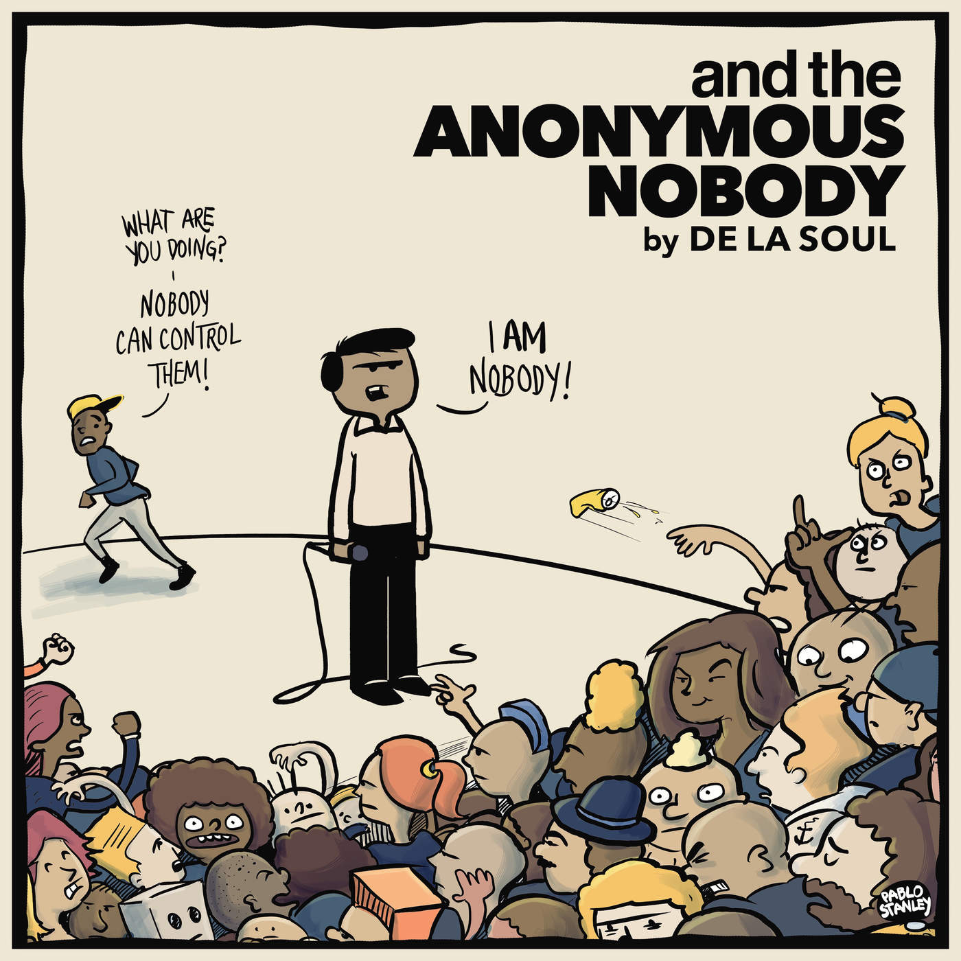 De La Soul - and the Anonymous Nobody... Cover