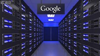 Tempat penyimpanan data google