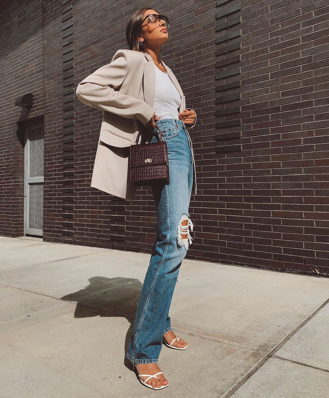 We Love This Stylish Work-From-Home Instagram Outfit