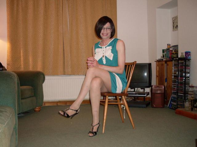 Emma Ballantyne green dress