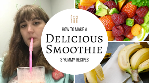 3 Super Delicious and Healthy Smoothie Recipes