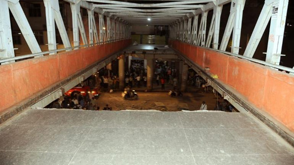 Foot overbridge collapses at Mumbai CST, 6 dead, 33 injured, Mumbai, News,  Accident, Death, Injured, hospital, Treatment, Report, National