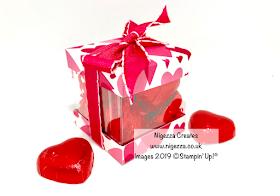 Stampin up Acetate box Nigezza Creates All my Love