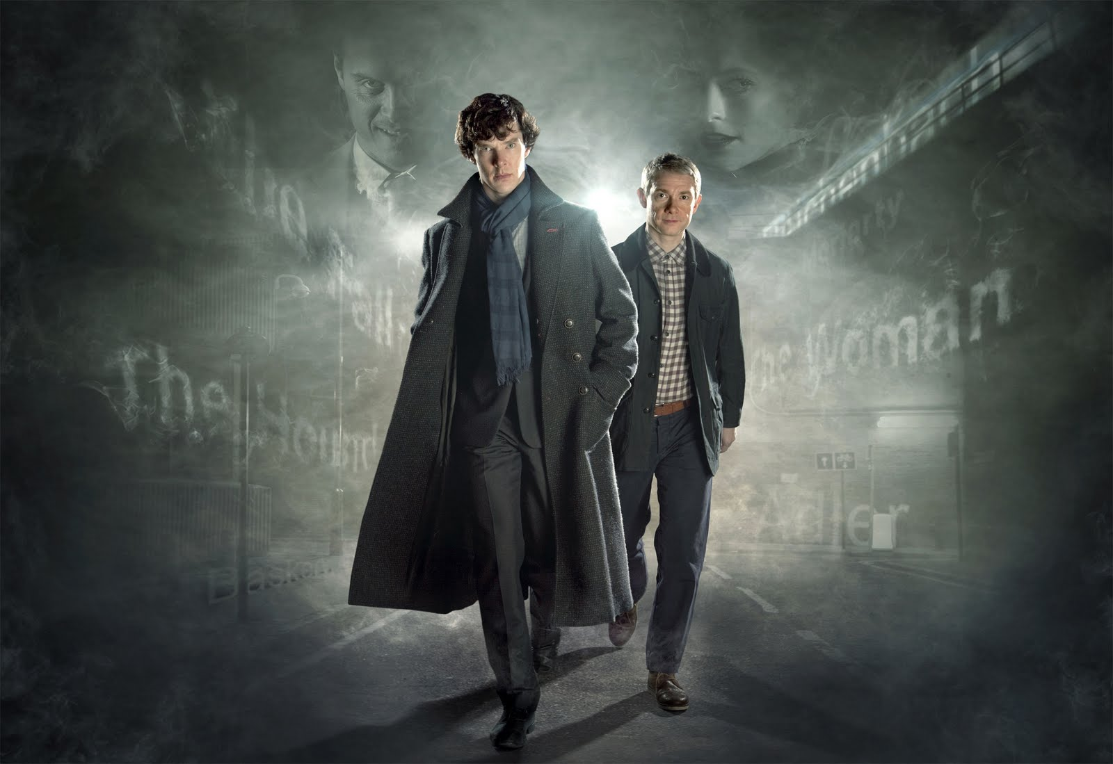 Sherlock Season 2 Updated New Poster Wallpaper And Cast Photos