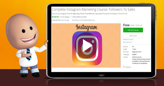 [100% Off] Complete Instagram Marketing Course: Followers To Sales|Worth 195$