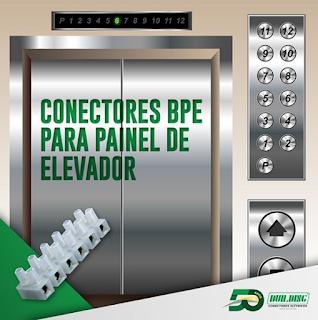 Conector em barra: Conector Múltiplo e barra
